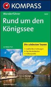 Guida escursionistica n. 5439. Rund umden Königssee - copertina
