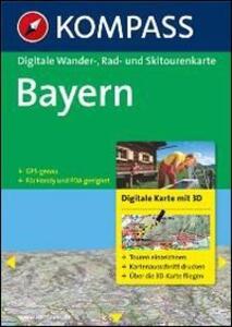 Carta digitale n. 4370. Bayern. 3 DVD-ROM. Digital map - copertina