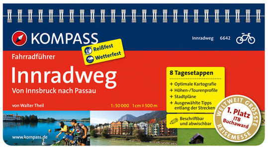 Guida ciclistica & mountainbike n. 1989. Innradweg - copertina