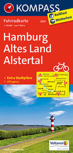 Carta cicloturistica n. 3007. Hamburg, Stormarn, Altes Land 1:70.000. Adatto a GPS. DVD-ROM. Digital map - copertina