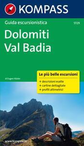 Guida escursionistica Dolomiti, Val Badia - copertina