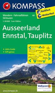 Wanderkarte n. 68. Ausseerland-Ennstal-Tauplitz
