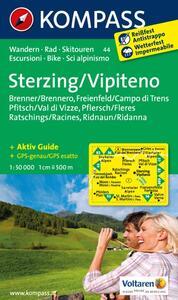 Carta escursionistica n. 44. Vipiteno-Sterzing. Adatto a GPS. DVD-ROM. Digital map