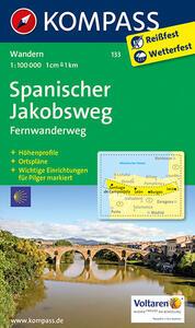 Spanischer Jakobsweg 1:100.000 - copertina