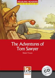 The Adventures of Tom Sawyer. Livello 3 (A2). Con CD Audio - Mark Twain - copertina