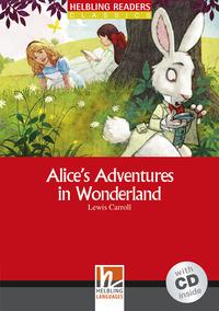 Alice's Adventures in Wonderland. Livello 2 (A1-A2). Con CD Audio - Carroll Lewis - wuz.it