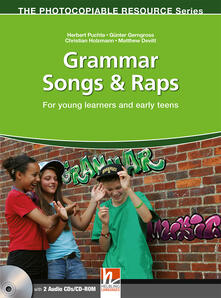 Listadelpopolo.it Grammar songs & raps. Con CD Audio. Con CD-ROM Image