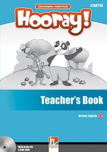 Hooray! Let's play! Starter. Teacher's book. Con CD-Audio - Herbert Puchta,Günter Gerngross - copertina