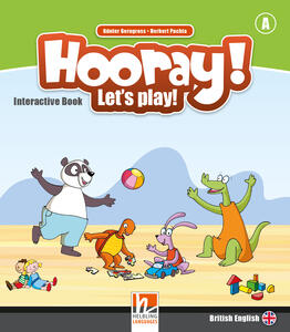 Hooray! Let's play! Level A. Interactive Book for whiteboards - Herbert Puchta,Günter Gerngross - copertina