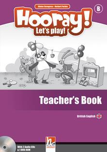 Ristorantezintonio.it Hooray! Let's play! Level B. Teacher's book. Con CD-Audio Image