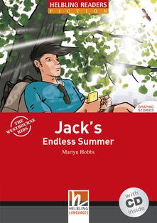 Antondemarirreguera.es Jack's endless summer. Livello 1 (A1). Con CD Audio Image