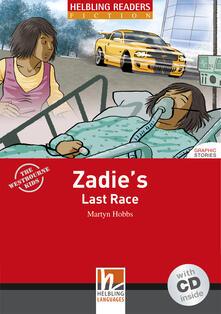Festivalshakespeare.it Zadie's Last Race. Livello 3 (A2). Con CD Audio Image