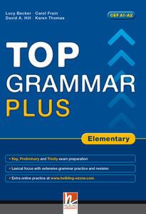 Top grammar plus. Elementary. Per le Scuole superiori. Con espansione online - Lucy Becker - copertina