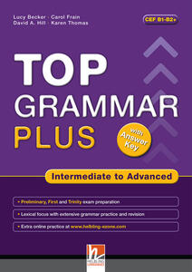 Top grammar plus. Intermediate to advanced. Student's Book. Per le Scuole superiori. Con espansione online - Lucy Becker - copertina