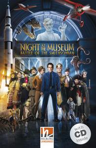 Night at the Museum: Battle of the Smithsonian. Livello 3 (A2). Con CD-Audio - copertina