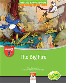Librisulladiversita.it The big fire. Big book. Level A. Young readers Image