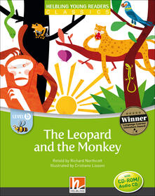 The Leopard and the Monkey.  (Level B - CEFR: A1). Con CD-ROM.pdf