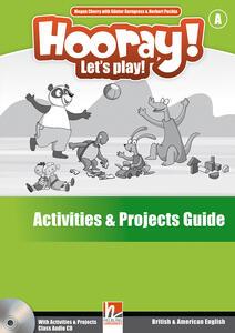 Hooray! Let's play! B. Activities and projects. Per la Scuola elementare - Herbert Puchta,Günter Gerngross - copertina