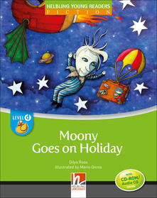 Voluntariadobaleares2014.es Moonie goes on holiday. Level D. Young readers. Con CD Audio: Level D Image