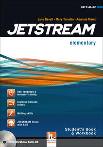 Jetstream. Elementary. Student's book-Workbook. Per le Scuole superiori. Con e-book. Con espansione online. Con CD-Audio - Jane Revell,Jeremy Harmer,Mary Tomalin - copertina