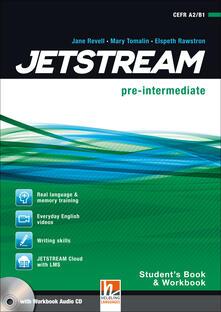 Equilibrifestival.it Jetstream. Pre intermediate. Student's book-Workbook. Per le Scuole superiori. Con e-book. Con espansione online. Con CD-Audio Image