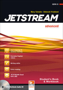 Jetstream. Advanced. Student's book-Workbook. Per le Scuole superiori. Con e-book. Con espansione online. Con CD-Audio - Jane Revell,Jeremy Harmer,Mary Tomalin - copertina