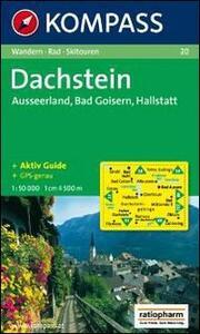 Carta escursionistica n. 20. Austria superiore. Dachstein, Ausseerland, Bad Goisern, Hallstatt 1:50.000. Adatto a GPS. DVD-ROM. Digital map - copertina