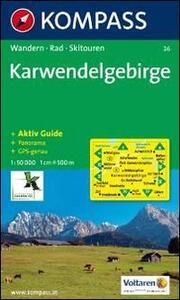 Carta escursionistica n. 26. Austria. Tirolo... Karwendelgebirge 1:50.000. Con carta panoramica. Adatto a GPS. DVD-ROM digital map. Ediz. bilingue