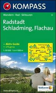 Carta escursionistica n. 31. Austria. Radstadt, Schlaming, Flachau 1:50000. Adatto a GPS. DVD-ROM. Digital map - copertina