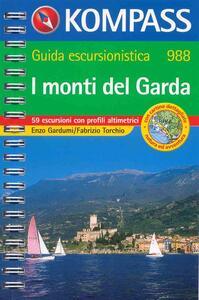 Guida turistica n. 988. Italia. I monti del Garda - Enzo Gardumi,Fabrizio Torchio - copertina