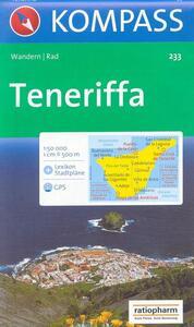 Carta escursionistica n. 233. Spagna. Isole Canarie. Teneriffa 1:50.000. Adatto a GPS. Digital map. DVD-ROM - copertina
