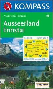 Carta escursionistica n. 68. Austria. Ausseerland, Ennstal 1:50000 - copertina