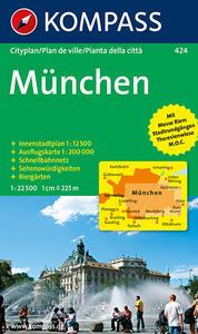 Pianta della città n. 424. Germania. Monaco 1:22.500 - copertina