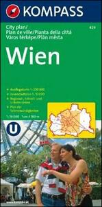 Pianta della città n. 429. Austria. Vienna-Wien 1:15.000 - copertina