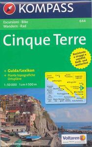 Carta escursionistica n. 644. Costa Azzurra, Liguria. Cinque Terre 1:50.000 - copertina