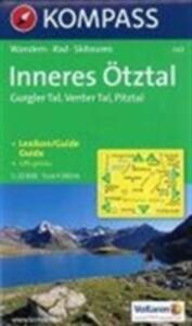 Carta escursionistica n. 042. Austria. Tirolo... Inneres Ötztal, Gurgler tal, Venter tal, Pitztal 1:25.000. Ediz. italiana, inglse e tedesca - copertina