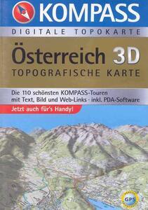 Carta digitale Austria n. 4309. Österreich. Con DVD-ROM. Digital map