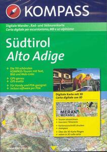 Carta digitale Italia n. 4331. Alto Adige-Dolomiti. Con 3 DVD-ROM digital map - copertina