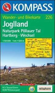 Carta escursionistica n. 226. Austria. Ad est delle Alpi. Vienna, Stiria... Joglland 1:50.000. Adatto a GPS. DVD-ROM digital map