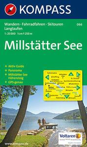 Carta escursionistica n. 066. Austria. Carinzia. Millstätter See 1:25.000. Con carta panoramica. Adatto a GPS. DVD-ROM digital map