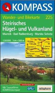 Carta escursionistica n. 217. Austria. Ad est delle Alpi. Vienna, Stiria... Steirisches Hügel und Vulkanland 1:50.000. Adatto a GPS. DVD-ROM digital map - copertina