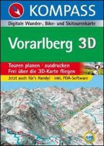 Carta digitale Austria n. 4297. Vorarlberg. Con DVD-ROM. Digital map - copertina