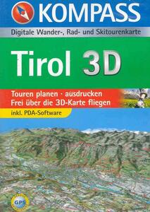 Carta digitale Austria n. 4292. Tirol. Con DVD-ROM. Digital map