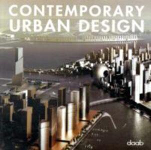 Libro Contemporary urban design. Ediz. tedesca