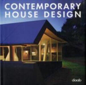 Contemporary house design. Ediz. multilingue - copertina
