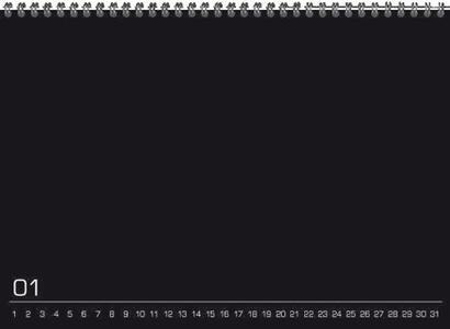 Calendario perpetuo Do It Yourself 21 x 15 cm - 3