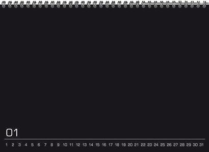 Calendario perpetuo Do It Yourself 21 x 15 cm - 6