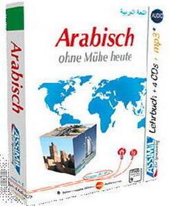 Arabisch ohne Mühe heute. Con CD-ROM formato MP3. Con 4 CD-Audio