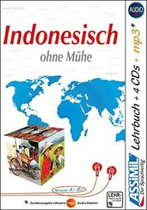 Libro Indonesisch ohne Mühe. Con 4 CD audio. Con CD audio formato MP3 Marie-Laure Beck-Hurault