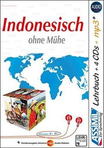 Libro Indonesisch ohne Mühe. Con 4 CD audio. Con CD audio formato MP3 Marie-Laure Beck-Hurault